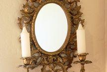 Винтаж зеркала