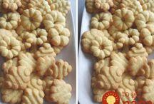 maslové keksy