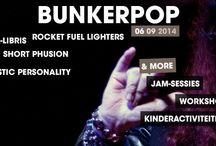 BUNKERPOP 2014 / || ZATERDAG 6 SEPTEMBER 2014 || Oefenbunkerlive @ Heerlenseweg 162 Landgraaf, Netherlands Entree = FREE