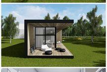 Tiny home fantastic idea for pergola from container design!