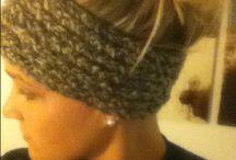 KNIT & CROCHET / Knit Crochet projects