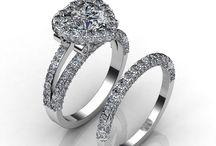 Heart Shape Diamond Engagement Rings / Javda All Heart Engagement Ring