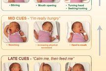baby feeding cues