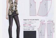 blusas / Modelos y patrones de Blusas