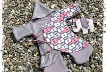 Sewing baby girl / DIY sewing and creatung / by Barbara Trotsky