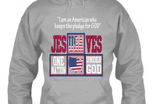 One Nation Under God Shirts / Show your commitment in keeping God's hand on our land. To remain One Nation Under God. Wear this Shirt proudly and buy it today! Click Here to Purchase => http://teespring.com/onung