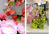 Pomlad na mizi / Za veliko noč očarajte z domiselno okrašeno praznično mizo.