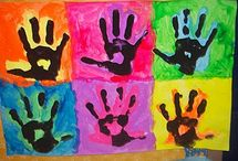 Andy Warhol hand art