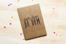 OUR DESIGNS + Greeting Cards / Greeting cards created by the Danger & Moon studio