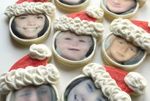 Christmas Cookies / Cookies for Christmas | Santa Cookies | Holiday Cookies | Custom Shaped Cookies