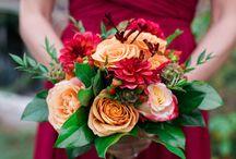 Cranberry and Orange Wedding Inspo