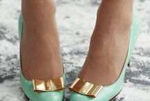 Minty & Gold Wedding / this is what I love