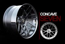 concave wheels