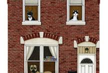 Окна + двери
