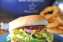 Burgers & Burger Toppings / This board has burgers, burger toppings and combinations that will intensify your cravings!