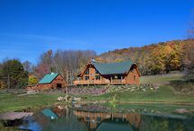 The Mountainview Log Home by Beaver Mountain Log Homes