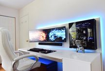 modern high tech office