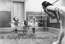 La donazione di amore è un'educazione in sé.