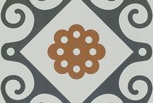 Patterned Tiles  / A selection of quirky, cool, funky and pretty unusual floor and wall tiles!