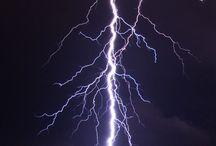 Lightning / Storm and thunder