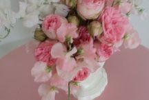 Vintage Vases / Flower design by Paula Pryke