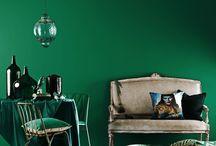 Smaragdzöld/mélykék vonal