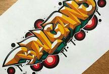 Graffity fonts