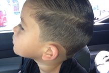 BOY'S HAIRCUT