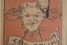 Exlibris / Bookplates - Emil Orlik