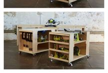 Workbench / Table for crosscut