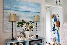 beach house /interiør