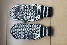 Inspiration tricot - gants bonnets etc