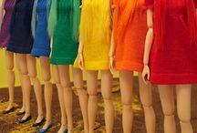 Rainbow / Skønne farver på skønne ting