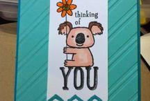 Kind Koala Stampin' Up! Stamp Set Greeting Cards