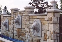 Cast Stone Site Enhancements / Cast Stone Fountains, Tables, Benches, Planters, Urns, Mailboxes, Gazebos, and Statuary