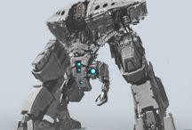 Mechs, Robots, Cyborgs