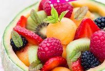 salade de fruits et décords