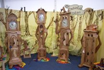 clocks / wooden grandfather clocks like you have never seen