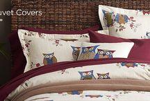 Chambres / Décoration chambres, lit, linge de lit, peinture murale, rideaux, matériaux, tissus, etc...