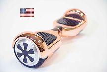 hoverboard di metallo