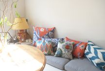 New collection has arrived! / Take your tea time with spring colorful cushions...;)