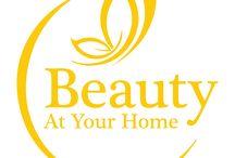 Web / Beauty At Your Home es la nueva Estética Móvil que nace para cubrir la necesidad de los clientes y de los que no disponen del tiempo y lugar preciso.