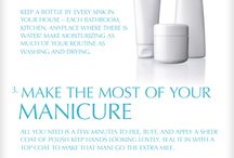 Nails - Manicure & Pedicure / Hints, tips & routines for Happy Hands
