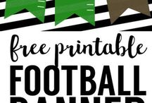 PARTY: Football / Crafts, printables, recipes, and party ideas for a fantastic football party!