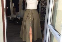 skirt cotton