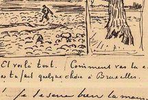 Vincent Van Gogh (sketches)