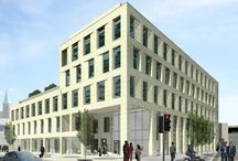 Great Moor Street, Bolton / In this project, we will be delivering a 30,000 sq ft, five-storey office building for PSP Bolton LLP. The value is £6m. The site is at the junction of Great Moor Street and Newport Street in Bolton.