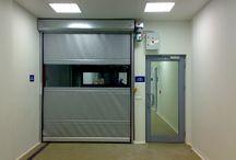 Yüksek hızlı pvc kapı / Endüstriyel tesislerde yüksek hız sağlayan otomatik branda kapılardır.