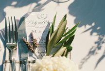 PLACE SETTINGS. / Event Planning