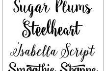 Fonty fonts